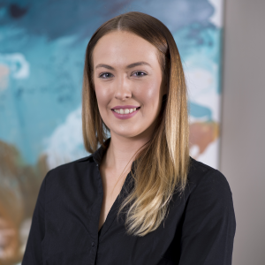 Ellie Green, support staff at Newcastle Chambers