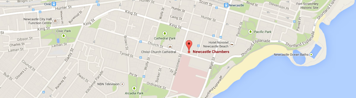 Contact us Newcastle Chambers